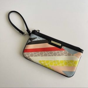 NW Clutch Wristlet Geometric Carry All Card Phone